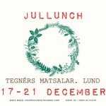 Julluncher på Tegnérs Matsalar!